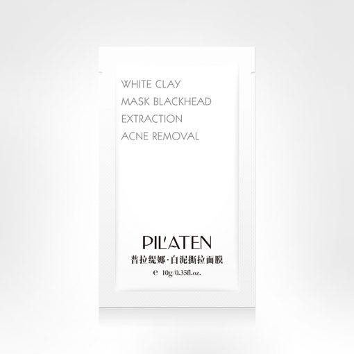 Pilaten maska oczyszczająca z białą glinką